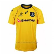 Camiseta Australia Wallabies 7s Rugby 2018 Local