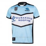Camiseta Cronulla Sutherland Sharks Rugby 2019 Local
