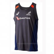 Tank Top Australia Rugby 2018-2019 Negro