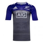 WH Camiseta Nueva Zelandia All Blacks Rugby 2016 Entrenamiento