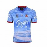 WH Camiseta Sydney Roosters Rugby 2016-2017 Segunda