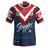 Camiseta Sydney Roosters Rugby 2018-2019 Conmemorative