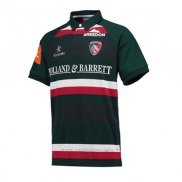 Camiseta Leicester Tigers Rugby 2017-2018 Local
