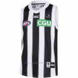 Tank Top Collingwood Magpies AFL 2019 Blanco Negro