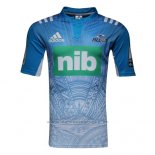WH Camiseta Blues Rugby 2017 Segunda