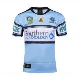 WH Camiseta Cronulla Sharks Rugby 2016 Local