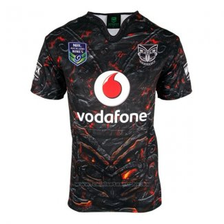 WH Camiseta Nueva Zelandia Warriors Rugby 2017 Local