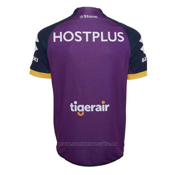 WH Camiseta Melbourne Storm 9s Rugby 2017 Local
